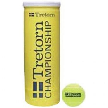 Cosco Tretorn Championship Tennis Balls - Can of 3 Balls