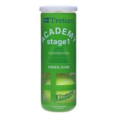 Cosco Tretorn Academy Green Tennis Balls - Can of 3 Balls