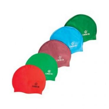 Cosco Swim Cap Silicone Single Colour