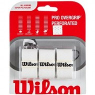 Wilson Pro Overgrip White 3 Pack Tennis Grips