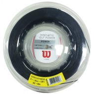 Wilson Synthetic Gut Power 16 Black Tennis Strings