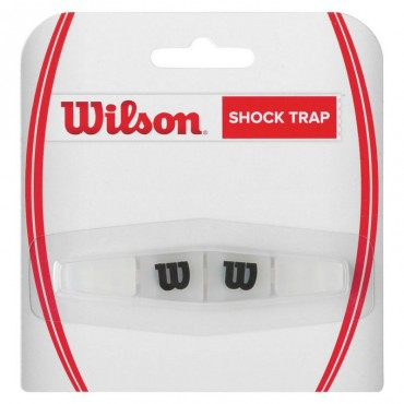 Wilson Shock Trap Clear With Black W Dampner