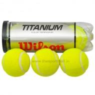 Wilson Titanium 3 Ball Tennis Balls