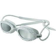 TYR Nest Pro Mirrored Goggles - White