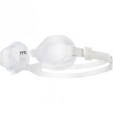 TYR Racetech Goggles   - Smoke