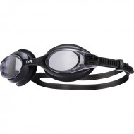 TYR Big Swimple Goggles   - Black/White