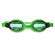 TYR Swimples Goggles  - Smoke/Green
