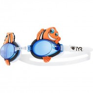 TYR Happy Fish Junior Goggles  - Orange