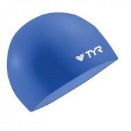 TYR Wrinkle Free Silicone Swim Cap - Blue