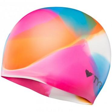 TYR Kaleidoscope Silicone Cap - Multi