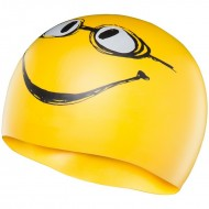 TYR Have A Nice Day Swim Silicone Cap - Yellow