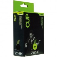 Stiga Cup Table Tennis Balls - Pack of 6 Balls