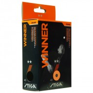 Stiga Winner Table Tennis Balls - Pack of 6 Balls