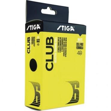 Stiga Club 40+ Table Tennis Balls - Pack of 6 Balls