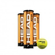 Head ATP Metal Can Tennis Balls - 3 Balls per Can