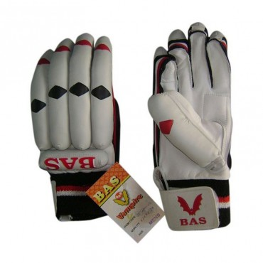 BAS Gold Calf Natural leather Cricket Batting Gloves