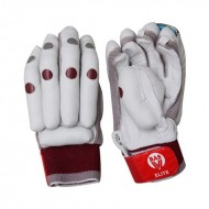 BAS Elite Calf Natural leather Cricket Batting Gloves