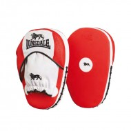 Lonsdale Pro Straight Synthetic Leather Hook & Jab Pads - Free Size
