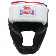 Lonsdale Super Pro Leather Headgear With Cheek