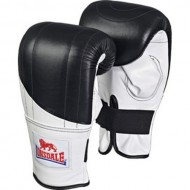 Lonsdale Pro Fitness Style Bag Leather Boxing Mitts Small Medium