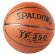 Spalding TF 250 Composite Cover Material Basket Ball - Size 7 (Brick )