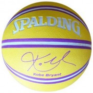 Spalding KOBE BRYANT Basket Ball  - Size 7 (Yellow/Purple )