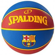 Spalding EURO BARCELONA Basket Ball - Size 7 (Red/Blue )