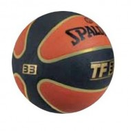 Spalding T F 33 Basket Ball - Size 7 (Gold/Orange/Black )