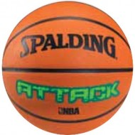 Spalding ATTACK Basket Ball - Size 7 (Brick )