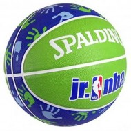 Spalding 2012 NBA JUNIORr Basket Ball - Size 5 (Green/Blue/White )