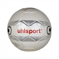 UHLSport Themis Mercury Football -  Size 5 (Yellow/Deep Blue/Grey)