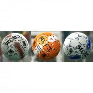 UHLSport Liga Rubber Football - Size 5 (White/Royal Blue)