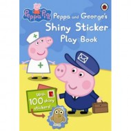 Peppa Pig : Peppa and Georges Shiny Sticker Play Book