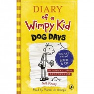 Diary of a Wimpy Kid : Dog Days ; Book 4 with CD