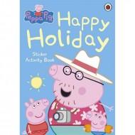 Peppa Pig : Happy Holiday Sticker Activity Book