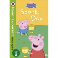 Peppa Pig Sports Day it y : Read It Yourself Level 2