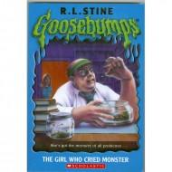 Girl Who Cried Monster (Goosebumps-8)