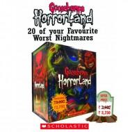 Horrorland Boxt Set - 20 Books (Goosebumps)